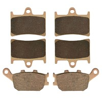 Motorcycle Front And Rear Brake Pads For YAMAHA FZ1 Fazer 3C3 Half Fairing Non ABS 2006