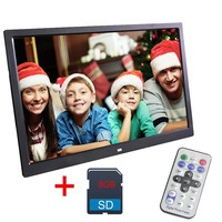 Liedao 15.6 Inch Digital Photo Frame 8 GB LED Backlight HD 1280*800 Full Function Electronic Album Digitale Picture Music Video