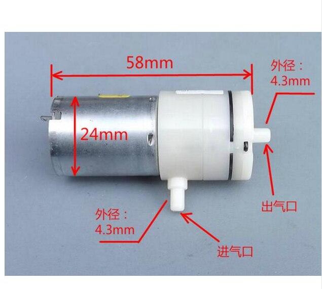 DC 3.7V 700mA 1300ml Flow Food Grade Self Priming Diaphragm Micro Water Pump high quality 8l min 24v dc 80w food grade pump dc