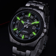 Relogio Masculino 2017 Mens Watches Top Brand Luxury Military Quartz Watch Man Sport Solar Energy Charge Wrist Watch Clock Men