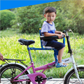 Niños Asientos De Bicicleta delantera de la bici de montaña Eléctrica silla de bebé del cinturón de seguridad de liberación rápida