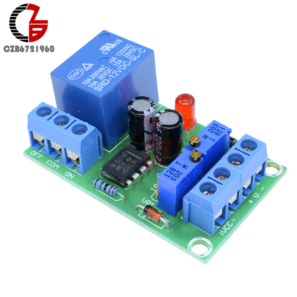 DC 12V Intelligent Charger Module Power Supply Controller Board Battery Automatic Charging Protection Board XH-M601