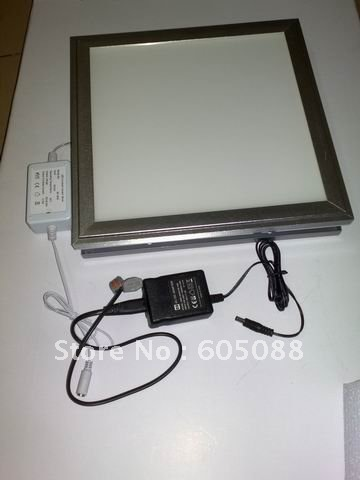 ФОТО neat design 18w square led ceiling panel lamp 300x300mm deluxe aluminum alloy surface mounted installation 6pcs/Lot promotion