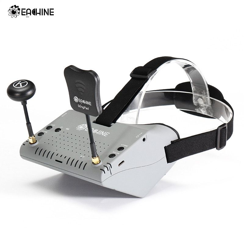 New Version Eachine EV900 5.8G 40CH HDMI AR VR FPV Goggles 5 Inch 1920*1080 HD Display Built-in Battery For RC Models VS EV800D