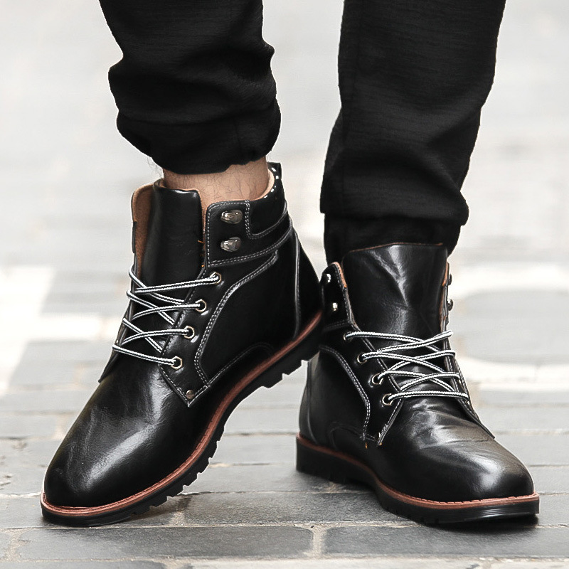 Cheap Mens Leather Boots Promotion-Shop for Promotional Cheap Mens ...