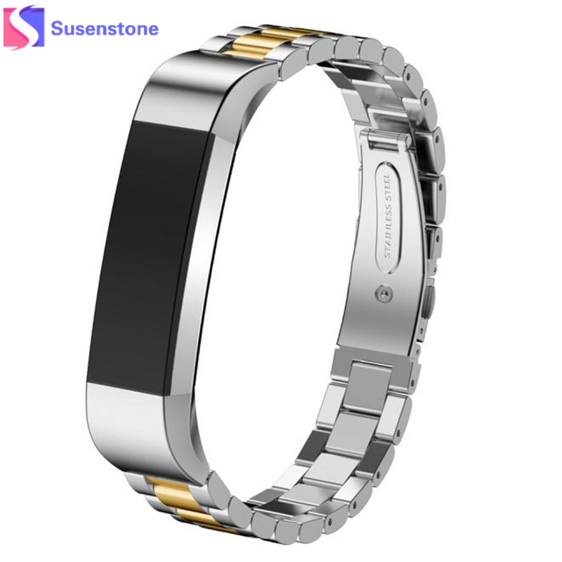 New Fashion Stainless Steel Watch Band Wrist strap For Fitbit Alta Smart Watch Band Link Strap Bracelet high quality 2016