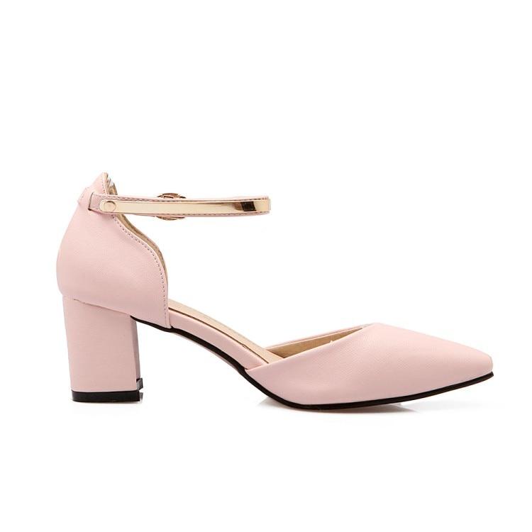 Femmes Sapato Chaussures Mode 43 Beige 34 D'été Chaussure 118 Plus Réel pu Ciel 2017 Gladiateur Feminino Grande Style 1 rose lavande Taille Sandales 5zwqPP