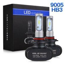 LED Headlight Bulbs Head Lamp Fog Light For CAN-AM Spyder GS RS Roadster RSS RT ST STS Etc ATV UTV Bikes Low Beamn
