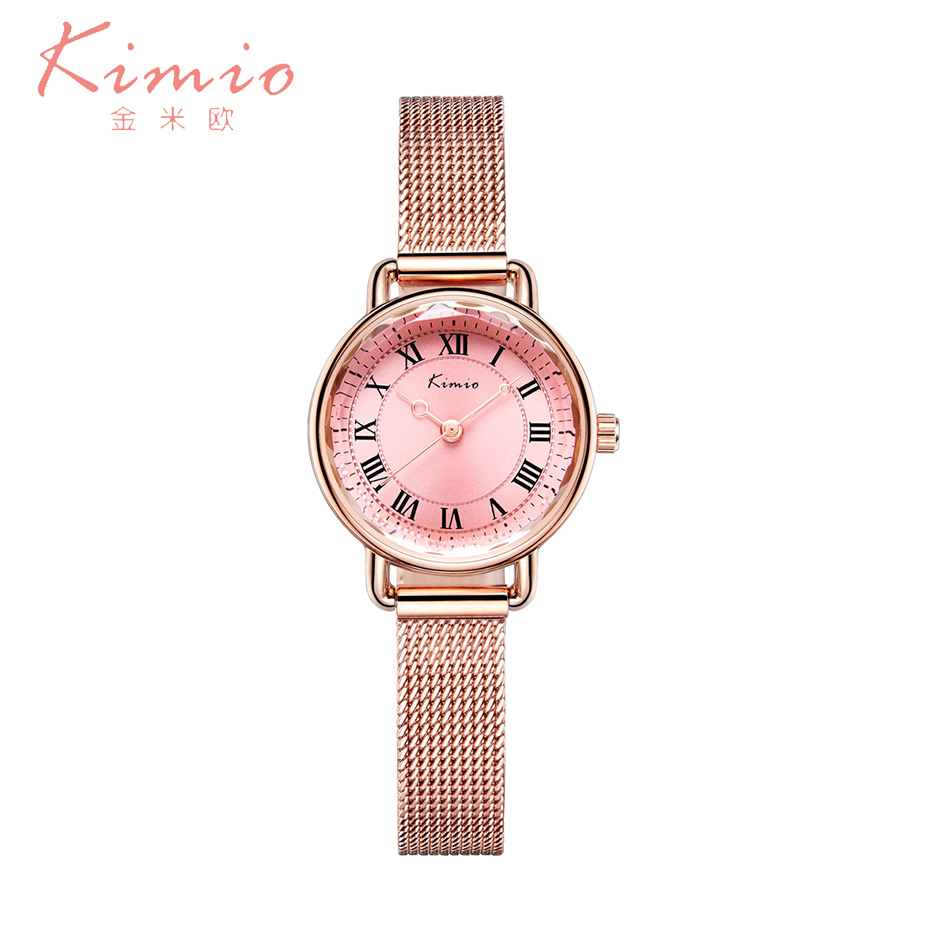 Kimio Women Watches Bracelet Quartz Watch Relogio Feminino Stainless Steel Wristwatch For Fashion Ladies Watch relogio feminino just for us