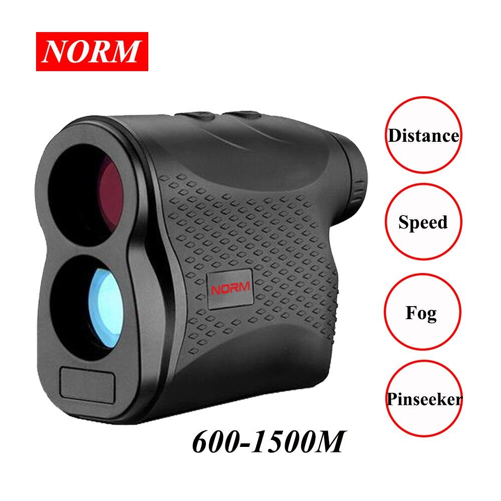 Norm 600 1500M Laser Distance Meter Laser Rangefinder Monocular Telescope for Golf hunting laser meter tape