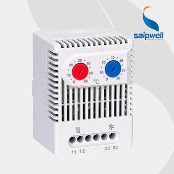 Termostatos duales Saip ZR011 (NO y NC), controlador de temperatura de buena calidad, termostato de tamaño pequeño