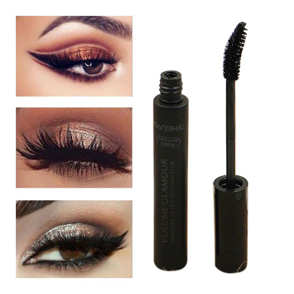 Lash Mascara Eye-Makeup Thick Black Extra-Long Waterproof Curling Natural Long-Lasting