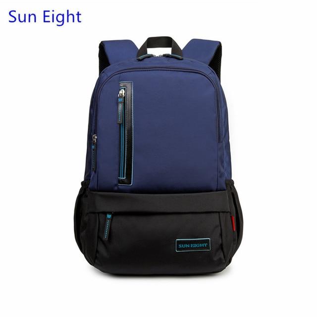 b30feb210cc6 Sun Eight dark blue boys school bags high school backpack for boy laptop  bag men travel bags girl schoolbag back pack wholesale