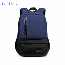 Sun Eight dark blue boys school bags high school backpack for boy laptop bag men travel bags girl schoolbag back pack wholesale
