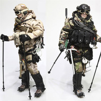 Mnotht 1/6 Solider US Navy Seals Suit Set VERYHOT VH1038 Mountaineering suit Snow jungle Clothes For 12in Action Figures l30