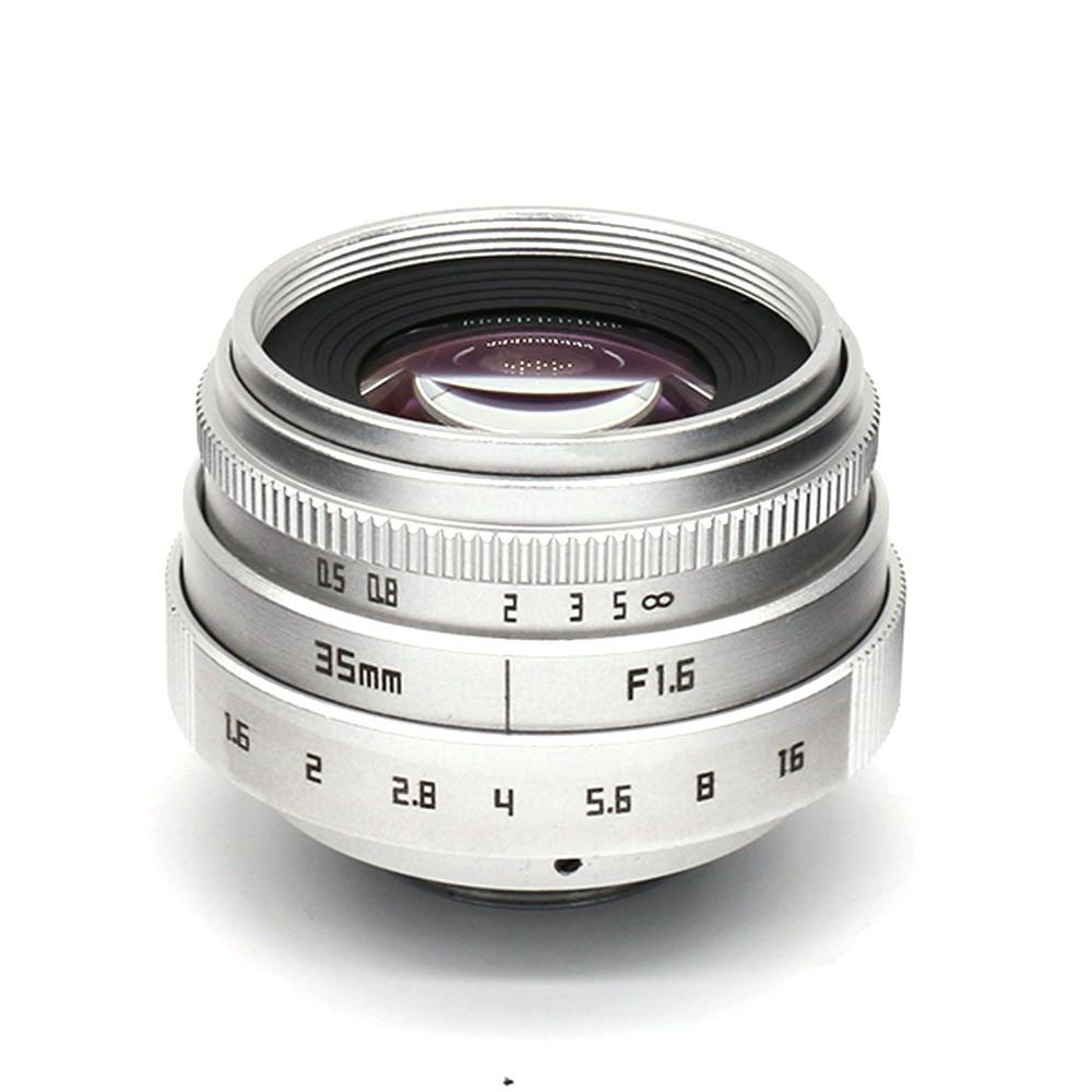 hõbedane uus saabumine FUJIAN 35mm f1.6 C mount CCTV kaamera - Kaamera ja foto - Foto 6