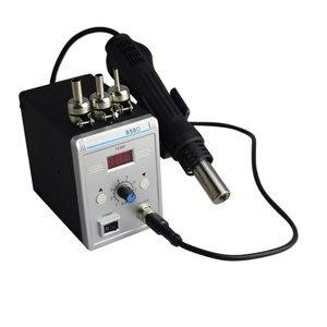 Image 3 - Estación de soldadura Eruntop 858D, sin plomo, Digital LED, desoldadura de hierro para soldar, BGA refundido, pistola de aire caliente