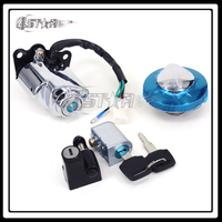 Motorcycle Accessories Lockset Key Switch Fuel Gas Cap Seat Lock Keys For CA CA250 Free Shipping