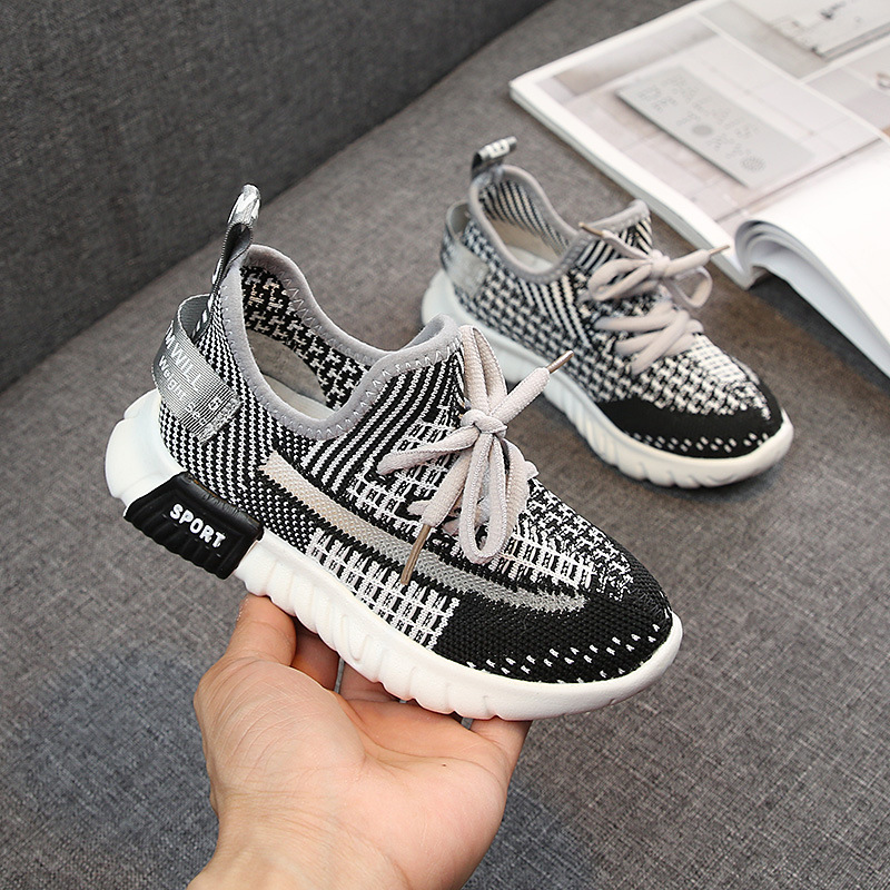 2019 Spring New Brand Kids Shoes Boys Sneakers Handmade Slip On Boys Shoes Girls Sneakers Casual Sports Children Shoes