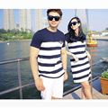 Fashion Couple Clothes Lovers T Shirts Men Summer Valentine's Day Casual Beach Wear Cute Korea Matching Couple Shirts H018