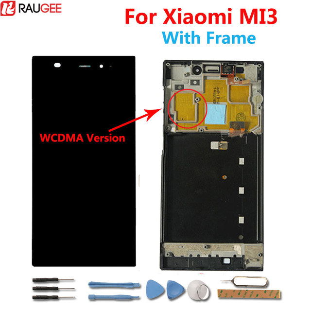 For xiaomi mi3 Display Lcd+Touch Screen With Frame Digital Panel ...