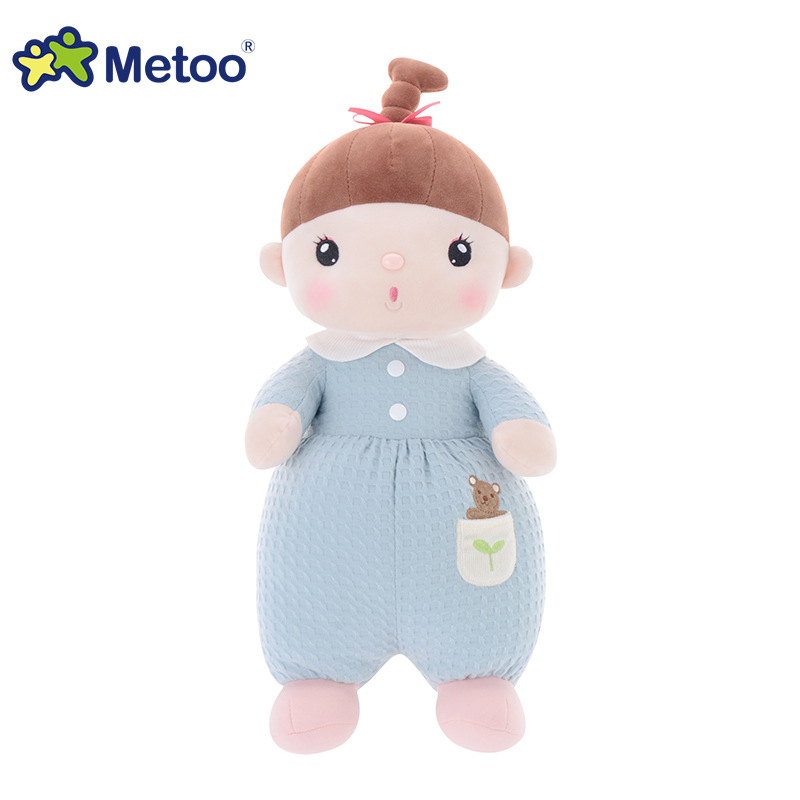 13 Inch Kawaii Stuffed Plush Cartoon Kids Toys for Girls Children Baby Birthday Christmas Gift Accompany Sleep Metoo Doll