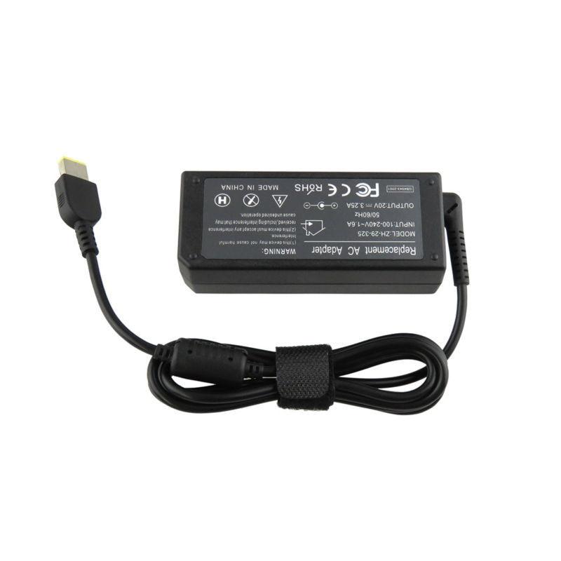 Zoolhong 20V 3.25 A מתאם AC מטען עבור Thinkpad G505 G410 G510 G400 G490
