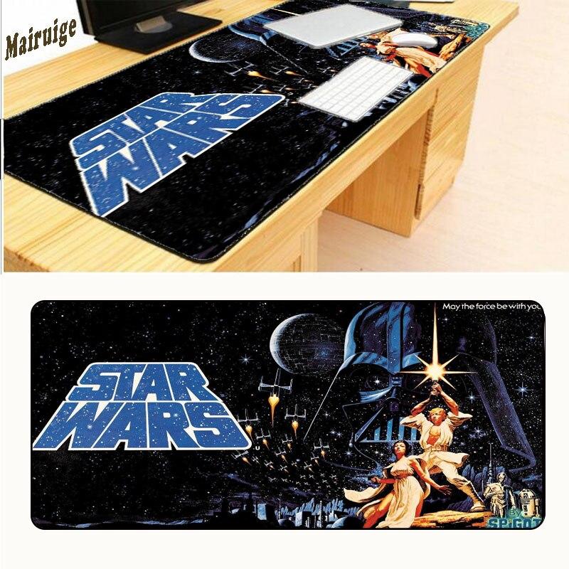 Mairuige Star Wars 900x400x3 мм площадку для Мышь Популярные Notbook компьютерная Мышь Pad игровой коврик Мышь геймер к клавиатура Мышь коврики