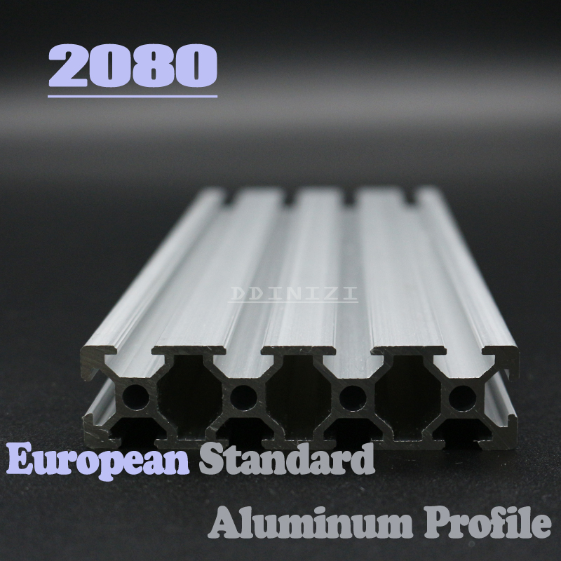 2080 CNC Corner Brackets  European Standard Anodized Linear Rail Aluminum Profile Extrusion 2080 for DIY 3D printer 2080 CNC Corner Brackets  European Standard Anodized Linear Rail Aluminum Profile Extrusion 2080 for DIY 3D printer