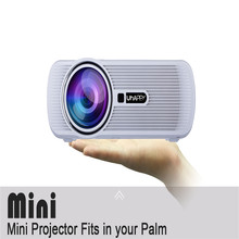 Professional 160W Home Theater Movie Cinema Projector 4.0 inch display 1000 Lumens Brightness Projector