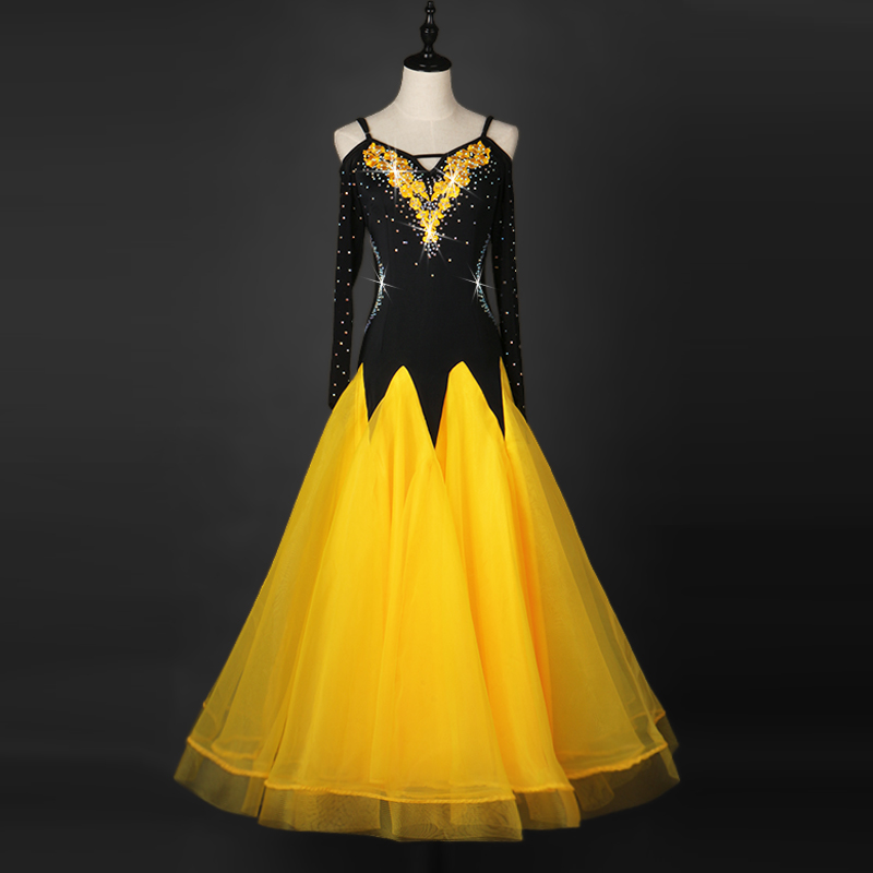 professional dress standard for girl girls women competition ladies black 2017 womens ballroom dance dresses with