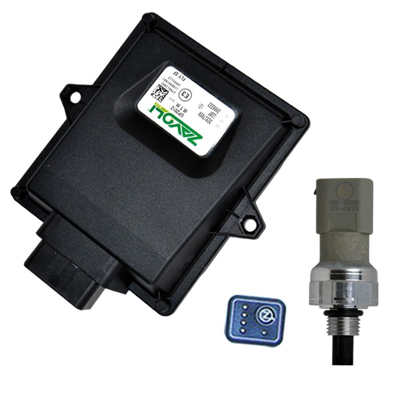 CNG Conversion Injection System Gas ECU Set OBD Automatic Detctor Device for Petrol Cars EFI Carburetor Engine