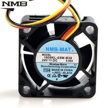 """מקורי עבור NMB 1608KL 05W B39 40*40*20mm 4020 24 V 0.08A 8500 סל""""ד עבור Fanuc עמיד למים מאוורר 30 יח\חבילה"""