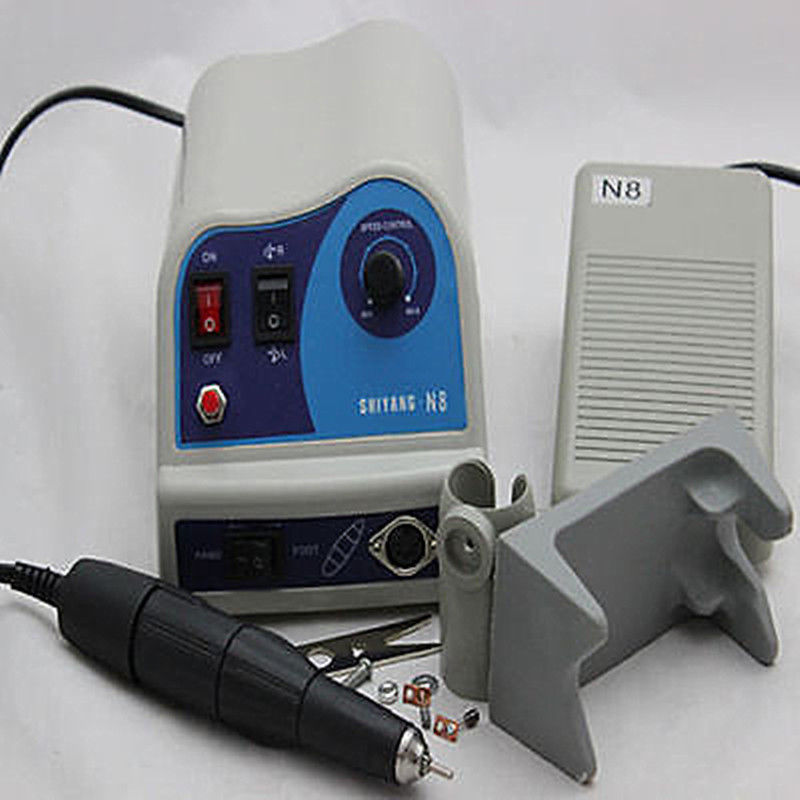 Dental Micromotor Marathon Machine Micro Motor Polisher N8 + 45K RPM Handpiece dental endodontic root canal endo motor wireless reciprocating 16 1 reduction