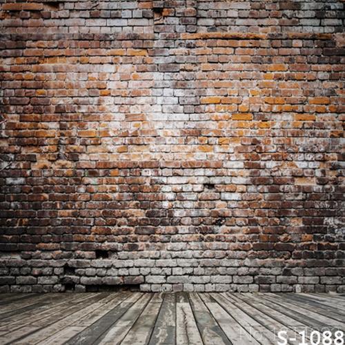 3x5ft Innen Hellgrau Grau Rot Ziegel Wand Holzboden Benutzerdefinierte  Fotostudio Hintergründe Kulissen 1x1.5m