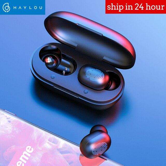Haylou GT1 TWS huellas dactilares Bluetooth auriculares estéreo HD inalámbrico auriculares cancelación del ruido auriculares para juegos