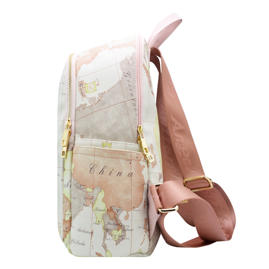 High quality unisex world map backpack casual women backpack high quality unisex world map backpack casual women backpack leather men backpack school bag mochila travel backpack hc w 6652 in backpacks from luggage gumiabroncs Image collections