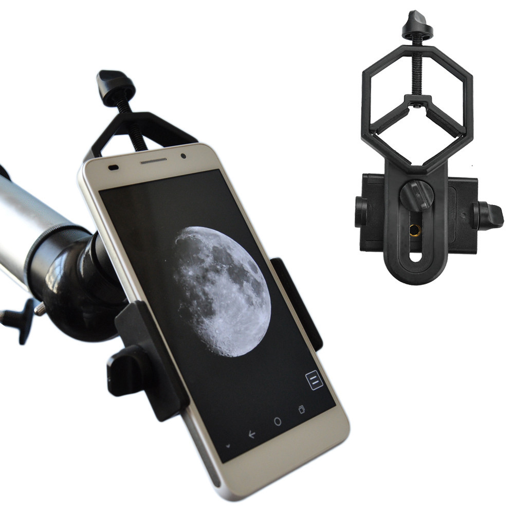 Smartphone Spotting Scopes Teleskop och Microscope Adapter-In Video Camera och Image Capturer i distant