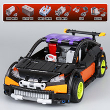 LEPIN 20053 Electric Racing Car Model Building Blocks Set Compatible Bricks Kit Educational Toy For Boy Children Technic Series