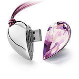 Blue Diamond Heart Style Pendrive 64 GB USB Flash Drive 512 GB Pen - Externe opslag - Foto 4