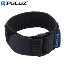 PULUZ Nylon Hand Wrist Strap for Wi-Fi Remote Control Of GoPro HERO For SJ4000 Length 25cm Black pj 002 protective silicone case wrist band for gopro hero 3 3 wi fi remote controller white