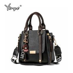 New Vintage Women Leather Handbags Zipper Decorative Women Bags Designer Bucket Bag Fashion Tassel Female Shoulder Crossbody Bag