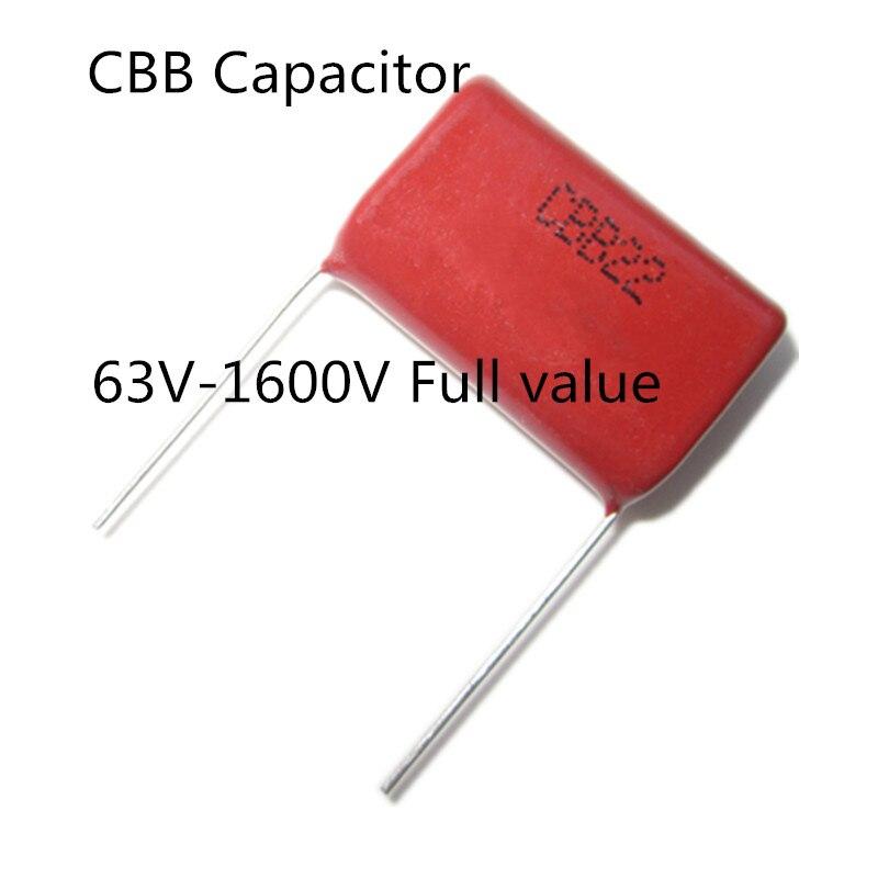 CBB Metallized Polypropylene Capacitors 2000V 2kV 102J 103J 104J 474J 105J etc.