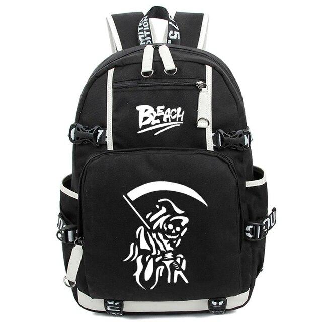 Anime Bleach Ichigo Kurosaki Luminous Backpack