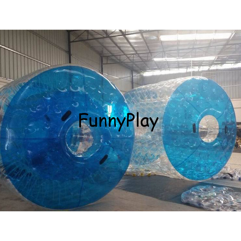 Inflatable Water Walking Roller,pool Floats Toys Walking On Water Rolling Ball Inflatable Roller Ball For Inflatable Water Park