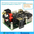 X600 Expansion Board Raspberry pi Music Player for Raspberry Pi 3 Model B /  Pi 2B/ B+