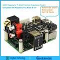 X600 Tarjeta de Expansión Reproductor de Música para Pi Frambuesa Raspberry pi 3 Modelo B/Pi 2B/B +