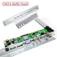 Only For 3463A LCD LED TV Driver Board Baffle Iron Metal Stand For Digital Signal Controller
