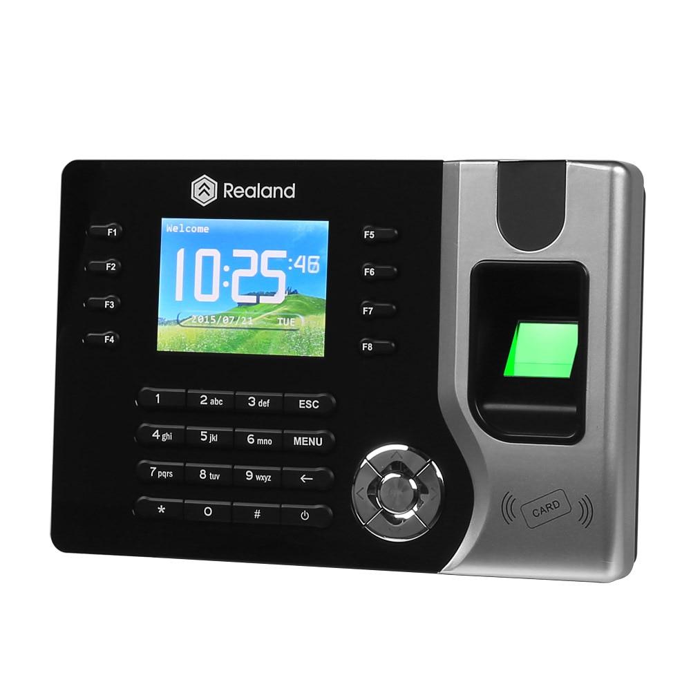 Biometric Fingerprint Time Clock Recorder Attendance EM4100 RFID125KHZ AC071 USB Office Time Recorder +10Rfid keyfobBiometric Fingerprint Time Clock Recorder Attendance EM4100 RFID125KHZ AC071 USB Office Time Recorder +10Rfid keyfob