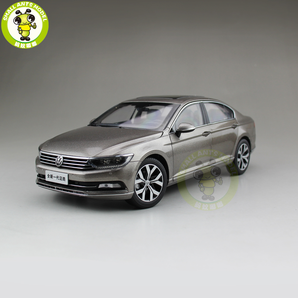 1/18 FAW VW Volkswagen Magotan Passat B8 Diecast Car Model Toys Girl Boy Birthday Gift Collection Hobby Gold 1 18 vw volkswagen teramont suv diecast metal suv car model toy gift hobby collection silver